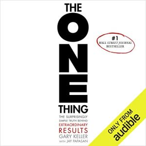 The One Thing by Gary Keller Cover